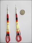 Quill Earrings (large) - 3737
